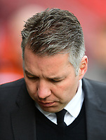 Doncaster Rovers manager Darren Ferguson <br /> <br /> Photographer Chris Vaughan/CameraSport<br /> <br /> The EFL Sky Bet League Two - Doncaster Rovers v Blackpool - Keepmoat Stadium - Doncaster<br /> <br /> World Copyright &copy; 2017 CameraSport. All rights reserved. 43 Linden Ave. Countesthorpe. Leicester. England. LE8 5PG - Tel: +44 (0) 116 277 4147 - admin@camerasport.com - www.camerasport.com