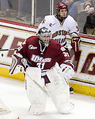Paul Dainton (UMass - 31), Cam Atkinson (BC - 13) - The Boston College Eagles defeated the University of Massachusetts-Amherst Minutemen 2-1 (OT) on Friday, February 26, 2010, at Conte Forum in Chestnut Hill, Massachusetts.