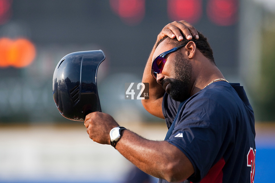 27 September 2009: Coach Emie Young of Team USA is seen during the 2009 Baseball World Cup gold medal game won 10-5 by Team USA over Cuba, in Nettuno, Italy.