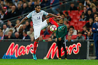 Danny Rose (Tottenham Hotspur) of England during the FIFA World Cup qualifying match between England and Malta at Wembley Stadium, London, England on 8 October 2016. Photo by David Horn / PRiME Media Images.