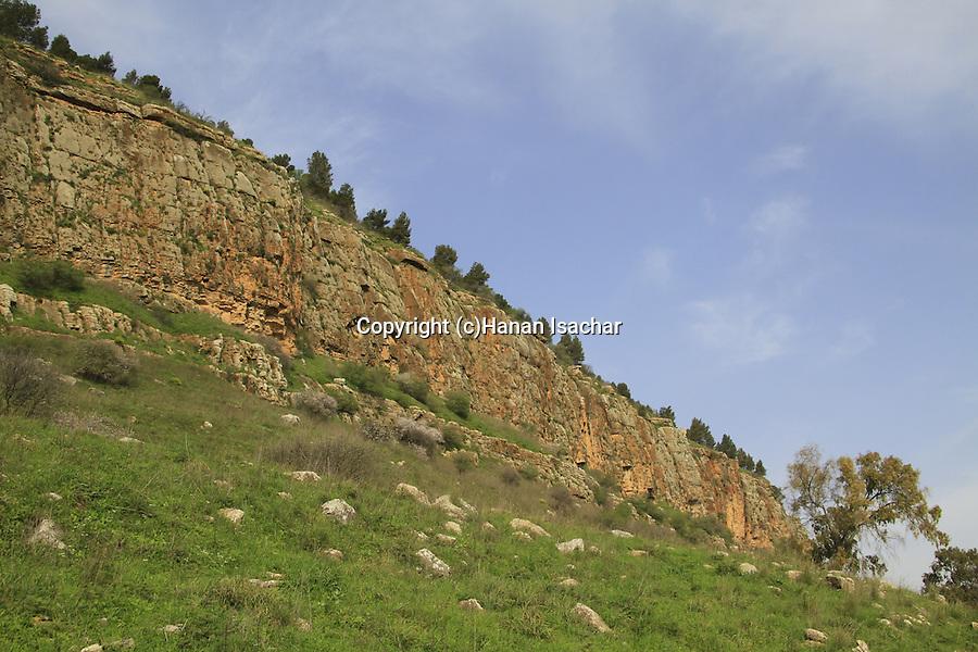 Israel, Ramim Cliff in the Upper Galilee