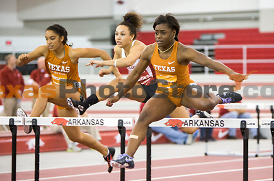 Fayetteville, AR:  Texas vs Arkansas Dual Track Meet in Fayetteville, Arkansas at the Randall Tyson Track Center on January 17, 2014.