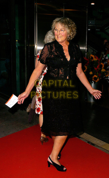"GERMAINE GREER.""Claudio Segovia's Brasil Brasileiro"" Press Night,.Sadlers Wells, London, England,.August 1st 2006..full length black dress glasses.Ref: CAN.www.capitalpictures.com.sales@capitalpictures.com.©Can Nguyen/Capital Pictures"