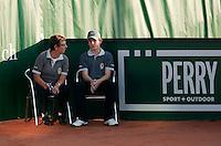 13-8-09, Den Bosch,Nationale Tennis Kampioenschappen, Scheidsrechters tijdens wissel