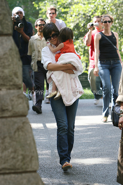 WWW.ACEPIXS.COM . . . . .  ....August 17 2008, New York City....Actress Katie Holmes took her daughter Suri Cruise for some fun in Central Park on August 17 2008 in New York City....Please byline: NANCY RIVERA- ACE PICTURES.... *** ***..Ace Pictures, Inc:  ..tel: (646) 769 0430..e-mail: info@acepixs.com..web: http://www.acepixs.com