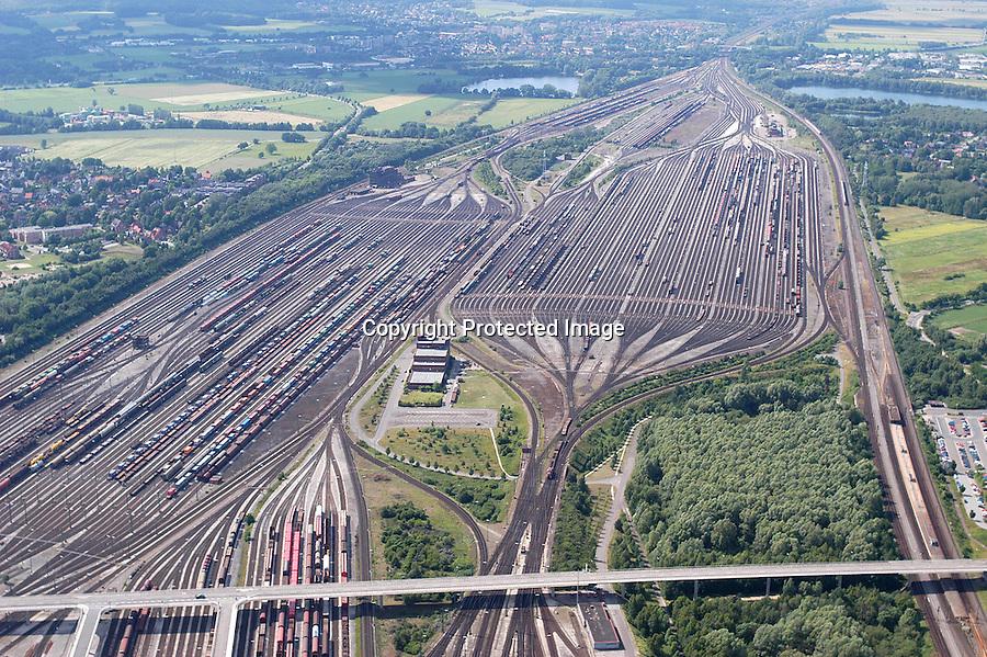 Deutschland, Niedersachsen, Maschen, Rangierbahnhof Maschen, Deutsche Bahn, Cargo, Güterverkehr, Bahn, Waggon,