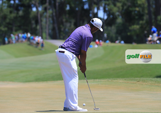 Harold Varner III (USA) during the Third Round of The Players, TPC Sawgrass, Ponte Vedra Beach, Jacksonville.   Florida, USA. 14/05/2016.<br /> Picture: Golffile | Mark Davison<br /> <br /> <br /> All photo usage must carry mandatory copyright credit (&copy; Golffile | Mark Davison)