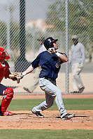 Jason Kipnis - Cleveland Indians 2009 Instructional League. .Photo by:  Bill Mitchell/Four Seam Images..