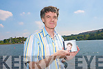 Peter McAuliffe with his first CD 'Irish and timeless favourites' which is to be launched officially during the Bank Holiday weekend in Kenmare.