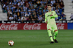 FC Barcelona's Gerard Pique during La Liga match between CD Leganes and FC Barcelona at Butarque Stadium in Madrid, Spain. September 26, 2018. (ALTERPHOTOS/A. Perez Meca)