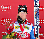 November 29, 2013 - Beaver Creek, Colorado, U.S. - Switzerland's, Lara Gut, wins the ladies downhill competition on Vail/Beaver Creek's new women's Raptor race course, Beaver Creek, Colorado.