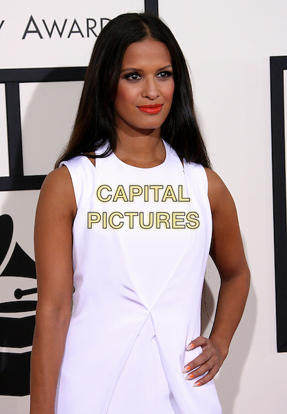 LOS ANGELES, CA - JANUARY 26 - Rocsi Diaz. 56th GRAMMY Awards held at the Staples Center. <br /> CAP/ADM<br /> &copy;AdMedia/Capital Pictures