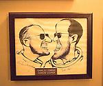 Artwork by Jack Rosen, Jack's Place Restaurant, International Drive, Orlando, Florida