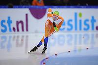 SCHAATSEN: HEERENVEEN: IJsstadion Thialf, 11-11-2012, KPN NK afstanden, Seizoen 2012-2013, 1000m Dames, Reina Anema, ©foto Martin de Jong