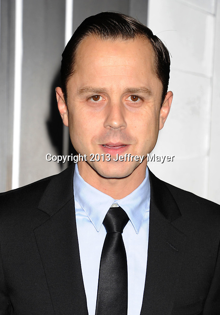 HOLLYWOOD, CA - JANUARY 07: Giovanni Ribisi arrives at the 'Gangster Squad' - Los Angeles Premiere at Grauman's Chinese Theatre on January 7, 2013 in Hollywood, California.