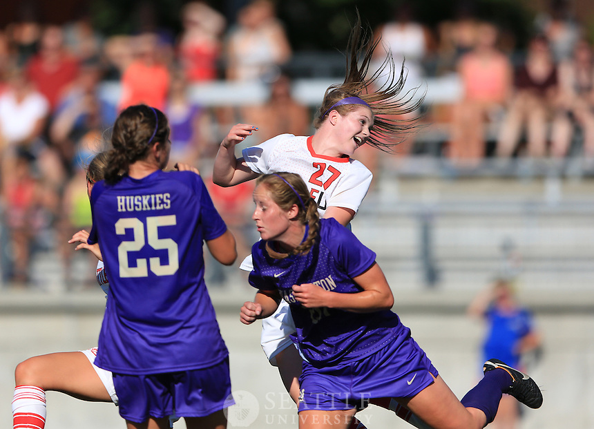 08172012- Seattle University Women's Soccer vs. University of Washington