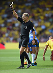 Referee Graham Scott during the premier league match at the Vicarage Road Stadium, Watford. Picture date 26th August 2017. Picture credit should read: Robin Parker/Sportimage
