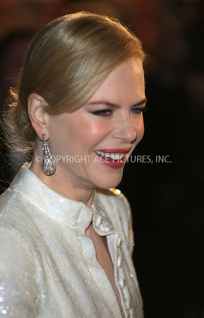 "Nicole Kidman at the premiere of ""Australia"" in London - 10 December 2008 ..FAMOUS PICTURES AND FEATURES AGENCY 13 HARWOOD ROAD LONDON SW6 4QP UNITED KINGDOM tel +44 (0) 20 7731 9333 fax +44 (0) 20 7731 9330 e-mail info@famous.uk.com www.famous.uk.com .FAM24869"