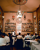 ITALY, Verona, people dining in Antica Bottega Del Vino Restaurant