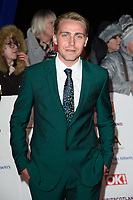 LONDON, UK. January 22, 2019: Barney Walsh the National TV Awards 2019 at the O2 Arena, London.<br /> Picture: Steve Vas/Featureflash