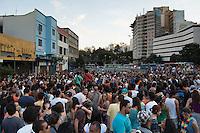BELO HORIZONTE-MG-15.09.2013-Primeira virada cultural de Belo Horizonte- apresentação de musica na Av. dos Andradas- domingo,15-(Foto: Sergio Falci / Brazil Photo Press)