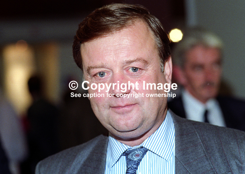 Kenneth Clarke, MP, Conservative Party, Home Secretary, politician, UK, 19921052KC1.<br />