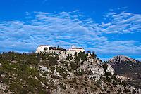 Medieval hilltop village, Gourdon, Provence, France