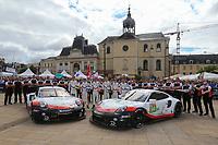 #93 PORSCHE GT TEAM (USA) PORSCHE 911 RSR GTE PRO PATRICK PILET (FRA) NICK TANDY (GBR) EARL BAMBER (NZL)  #94 PORSCHE GT TEAM (USA) PORSCHE 911 RSR GTE PRO ROMAIN DUMAS (FRA) TIMO BERNHARD (DEU) SVEN MULLER (DEU)