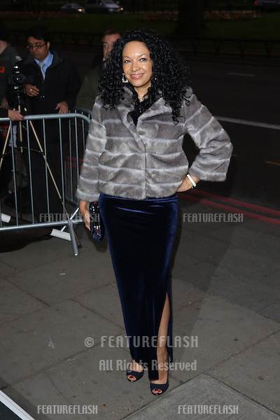 Kanya King at The Asian Awards 2014 held at Grosvenor House Hotel, London. 04/04/2014 Picture by: Henry Harris / Featureflash