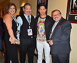 CORAL GABLES, FL - JULY 16: Lennox backstage at Univision's Premios Juventud 2015 at Bank United Center on July 16, 2015 in Miami, Florida.  ( Photo by Johnny Louis / jlnphotography.com )