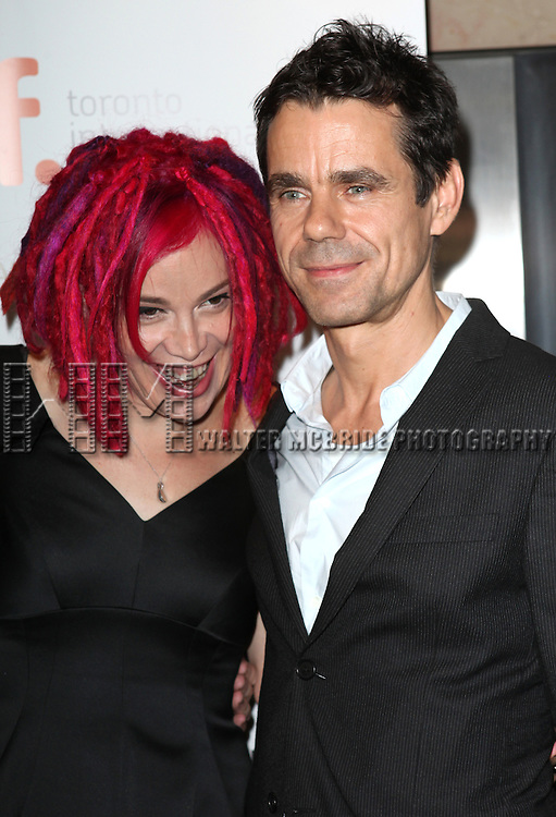 Lana Wachowski and Tom Tykwer  attending the The 2012 Toronto International Film Festival.Red Carpet Arrivals for  'Cloud Atlas' at the Princess of Wales Theatre in Toronto on 9/8/2012