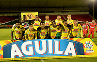 TUNJA -COLOMBIA, 07-07-2017: Patriotas FC y Atletico Huila en partido por la fecha 1 de la Liga Águila II 2017 realizado en el estadio La Independencia de Tunja. / Patriotas FC and Atletico Huila in match for the date 1 of Aguila League II 2017 played at La Independencia stadium in Tunja. Photo: VizzorImage / Javier Morales  / Cont