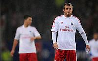 USSBALL   1. BUNDESLIGA    SAISON 2012/2013    10. Spieltag   Hamburger SV - FC Bayern Muenchen                    03.11.2012 Rafael van der Vaart (Hamburger SV)  enttaeuscht