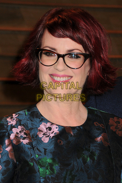 02 March 2014 - West Hollywood, California - Megan Mullally. 2014 Vanity Fair Oscar Party following the 86th Academy Awards held at Sunset Plaza.<br /> CAP/ADM/BP<br /> &copy;Byron Purvis/AdMedia/Capital Pictures