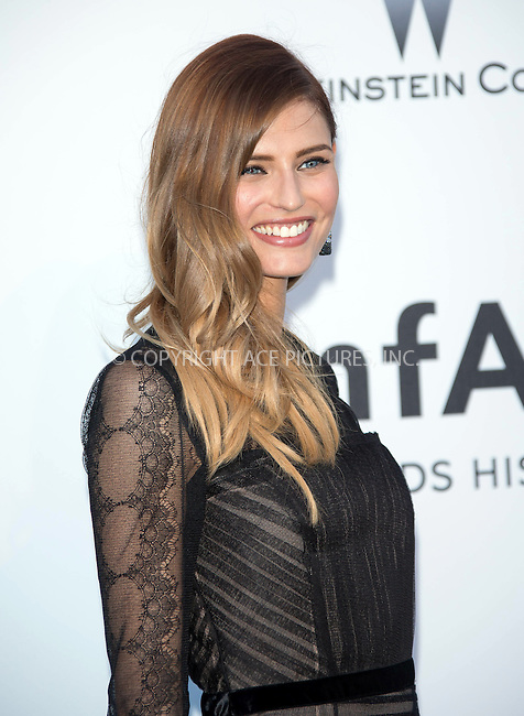 WWW.ACEPIXS.COM....US Sales Only....May 23 2013, New York City....Bianca Balti at amfAR's Cinema Against AIDS Gala at the Hotel du Cap Eden Roc during the Cannes Film Festival on May 23 2013 in France....By Line: Famous/ACE Pictures......ACE Pictures, Inc...tel: 646 769 0430..Email: info@acepixs.com..www.acepixs.com