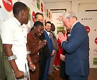 11/03/2020 - Michael Ward, Michaela Coel, Richard E Grant, Chris Ramsey, Levi Roots and Prince Charles at The Princes Trust Awards 2020 At The London Palladium. Photo Credit: ALPR/AdMedia