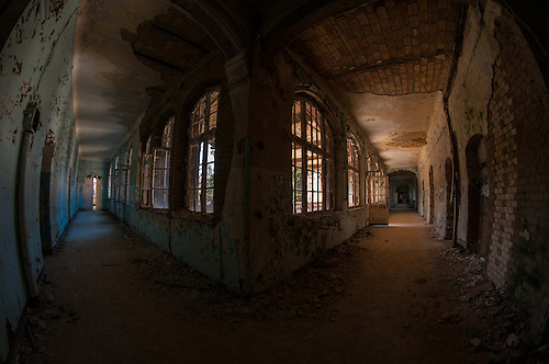 An old abandoned hospital near Berlin