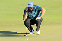 Shane Lowry (IRL) on the 18th green during Thursday's Round 1 of the 2018 Turkish Airlines Open hosted by Regnum Carya Golf &amp; Spa Resort, Antalya, Turkey. 1st November 2018.<br /> Picture: Eoin Clarke | Golffile<br /> <br /> <br /> All photos usage must carry mandatory copyright credit (&copy; Golffile | Eoin Clarke)