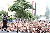 SAO PAULO, SP, 23.02.2014 ANIVERSÁRIO 50 ANOS BAIRRO DO JABAQUARA - Banda CPM 22, durante apresentçao do aniversário de 50 anos do bairro do Jabaquara , na tarde deste domingo, 23 na zona sul da cidade de São Paulo. (Foto: Andre Hanni /Brazil Photo Press).