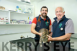 Eugene McGath Jr. and Snr. at McGrath Veterinary Clinic, Market Street