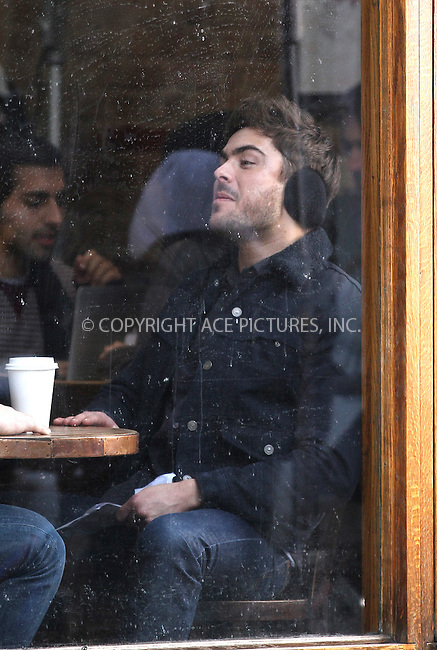 WWW.ACEPIXS.COM....January 23 2013, New York City....Actor Zac Efron on the set of the new movie 'Are We officially Dating' on January 23 2013 in New York City....By Line: Zelig Shaul/ACE Pictures......ACE Pictures, Inc...tel: 646 769 0430..Email: info@acepixs.com..www.acepixs.com