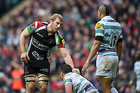 Chris Robshaw of Harlequins during the Aviva Premiership match between Harlequins and London Irish at Twickenham on Saturday 29th December 2012 (Photo by Rob Munro).
