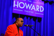 February 26, 2013  (Washington, DC)  Grammy Award winning artist Stevie Wonder performs after receiving the 2013 Avoice Heritage Distinguished Individual Award at the historic Howard Theatre in D.C. (Photo by Don Baxter/Media Images International)