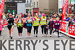 Ashley OShea, 1452, Kerry OMahony, 1437, Donna OMahony, 1436, ?? and Claire Leane, 1281 who took part in the 2015 Kerry's Eye Tralee International Marathon Tralee on Sunday.