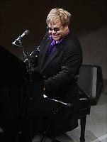 Elton John 3-16-11<br /> Photo By John Barrett/PHOTOlink