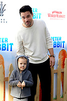 "LOS ANGELES - FEB 3:  Brett Dalton at the ""Peter Rabbit"" Premiere at the Pacific Theaters at The Grove on February 3, 2018 in Los Angeles, CA"