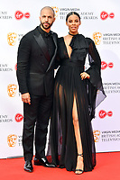 Marvin Humes and Rochelle Humes<br /> at Virgin Media British Academy Television Awards 2019 annual awards ceremony to celebrate the best of British TV, at Royal Festival Hall, London, England on May 12, 2019.<br /> CAP/JOR<br /> ©JOR/Capital Pictures