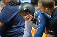 Picture by Allan McKenzie/SWpix.com - 06/01/2018 - Track Cycling - Revolution Champion Series 2017 - Round 3 - National Cycling Centre, Manchester, England - Great Britain's Jason Kenny returns to the track at the Revolution Series in Manchester racing in the Sprint heats.