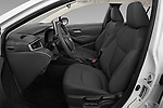 Front seat view of 2020 Toyota Corolla-Hybrid LE 4 Door Sedan Front Seat  car photos