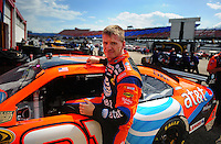 Apr 25, 2008; Talladega, AL, USA; NASCAR Sprint Cup Series driver Jeff Burton (31) during practice for the Aarons 499 at Talladega Superspeedway. Mandatory Credit: Mark J. Rebilas-